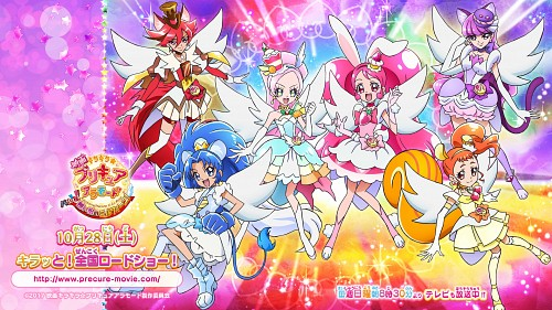 Toei Animation, Kirakira Precure A La Mode, Cure Custard, Cure Whip, Cure Chocolat
