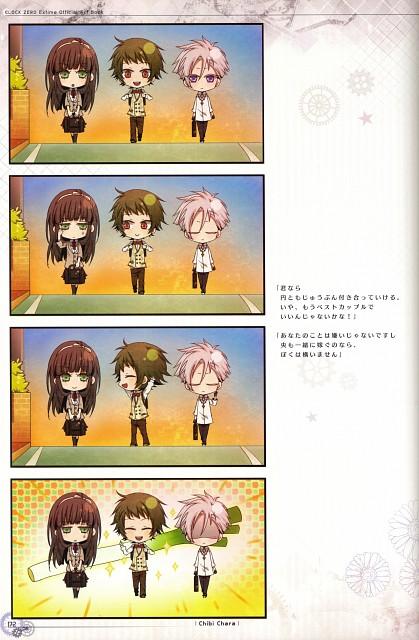 Nagaoka, Idea Factory, Clock Zero Official Visual Fan Book, Clock Zero, Nakaba Hanabusa