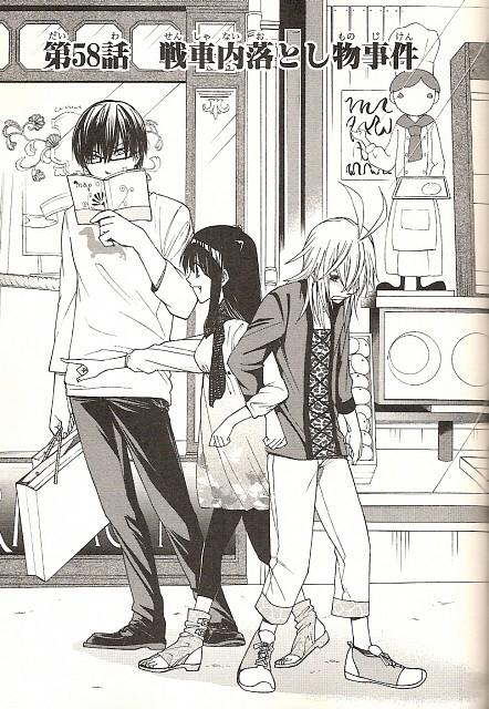 Mochi (Mangaka), Zexcs, Cuticle Tantei Inaba, Haruka Inaba, Natsuki (Cuticle Tantei Inaba)