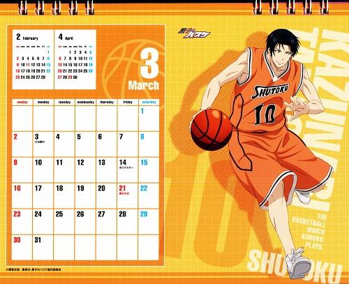 Tadatoshi Fujimaki, Production I.G, Kuroko no Basket, Kuroko No Basket Calendar 2014, Kazunari Takao