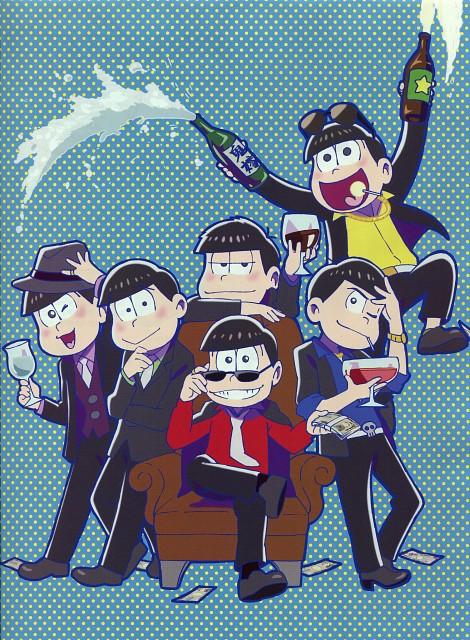 Osomatsu-kun, Osomatsu Matsuno, Juushimatsu Matsuno, Ichimatsu Matsuno, Todomatsu Matsuno