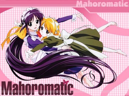 Gainax, Mahoromatic, Minawa Andou, Mahoro Andou Wallpaper