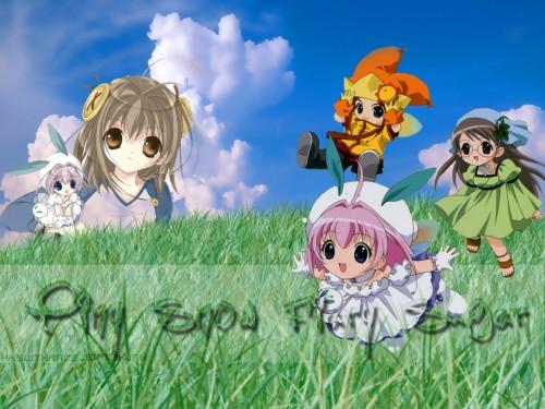Koge Donbo, A Little Snow Fairy Sugar, Sugar (A Little Snow Fairy Sugar), Saga Bergman, Pepper (A Little Snow Fairy Sugar) Wallpaper