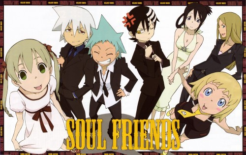 Atsushi Okubo, BONES, Soul Eater, Black Star, Maka Albarn