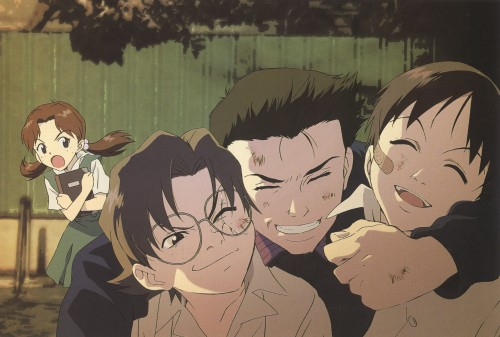 Yoshiyuki Sadamoto, Neon Genesis Evangelion, Die Sterne, Kensuke Aida, Hikari Horaki