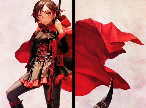 Range Murata, RWBY, RWBY Volume 1 Official Japanese Fan Book, Ruby Rose, Comic Market 87