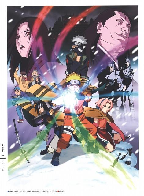 Studio Pierrot, Naruto, The Art of Tetsuya Nishio Full Spectrum, Doto Kazahana, Naruto Uzumaki