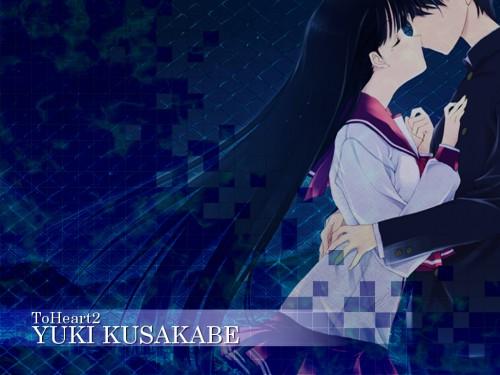 AQUAPLUS, To Heart 2, Takaaki Kouno, Yuki Kusakabe Wallpaper