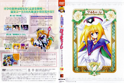 Kaishaku, UFO Princess Valkyrie, Valkyrie (UFO Princess Valkyrie), DVD Cover