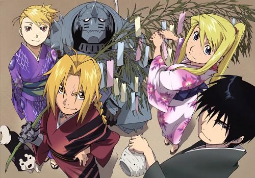BONES, Fullmetal Alchemist, Edward Elric, Roy Mustang, Black Hayate