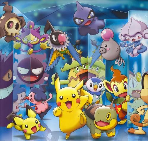 OLM Digital Inc, Nintendo, Pokémon, Spoink, Aipom