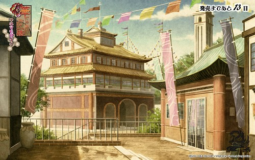 Yuuya (Mangaka), Idea Factory, Hanayakanari Waga Ichizoku, Official Wallpaper
