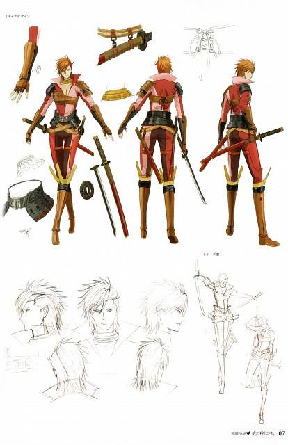 Production I.G, Capcom, Sengoku Basara, Sakon Shima (Sengoku Basara), Character Sheet