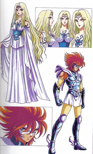 Toei Animation, Saint Seiya, Artemis (Saint Seiya), Icarus Toma