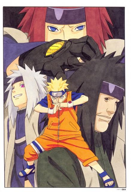 Masashi Kishimoto, Naruto, NARUTO Illustrations, Kongou, Naruto Uzumaki