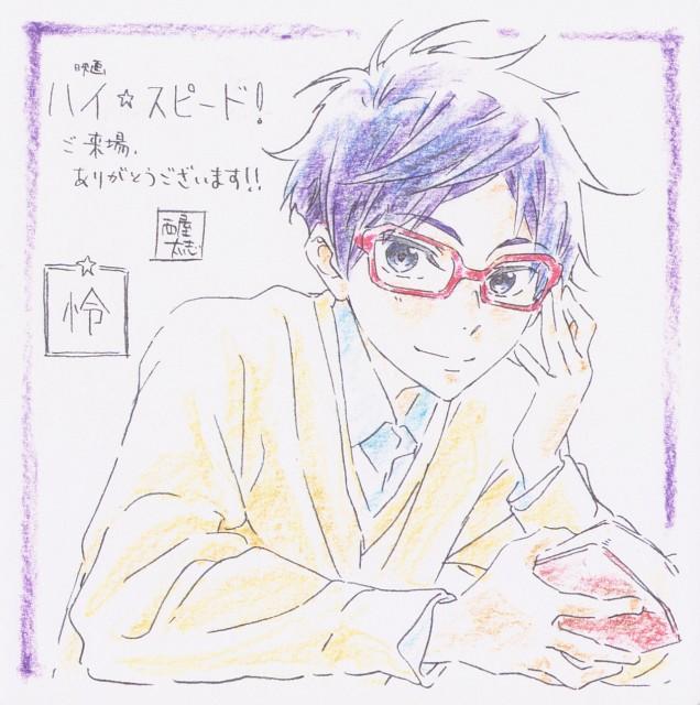 Futoshi Nishiya, Kyoto Animation, Free!, Rei Ryuugazaki