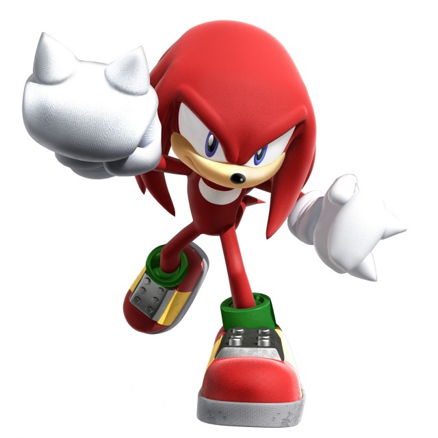 Sega, SNK, Sonic Series, Knuckles the Echidna, Official Digital Art