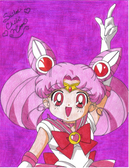 Toei Animation, Bishoujo Senshi Sailor Moon, Sailor Chibi Moon, Member Art