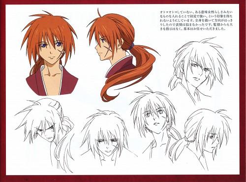 Hiromitsu Hagiwara, Nobuhiro Watsuki, Studio DEEN, Rurouni Kenshin, Kenshin Himura