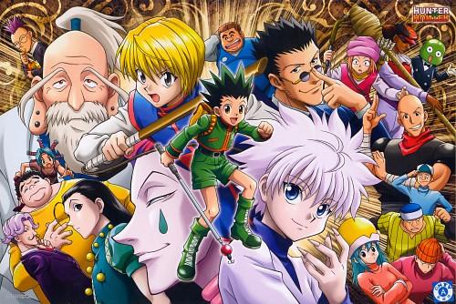 Yoshihiro Togashi, Hunter x Hunter, Illumi Zaoldyeck, Gon Freecss, Hisoka