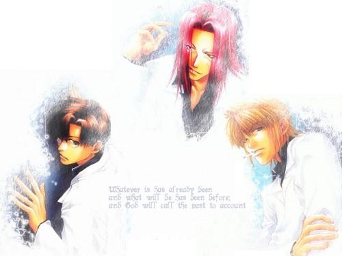 Kazuya Minekura, Studio Pierrot, Saiyuki, Cho Hakkai, Sha Gojyo Wallpaper