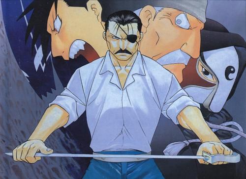Hiromu Arakawa, BONES, Fullmetal Alchemist, Ling Yao, Wrath