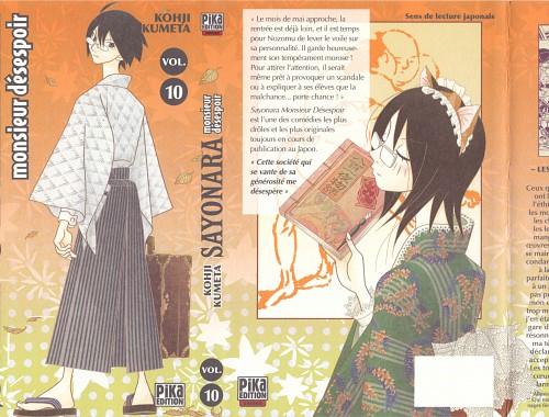 Kouji Kumeta, Sayonara Zetsubou Sensei, Harumi Fujiyoshi, Nozomu Itoshiki, Manga Cover