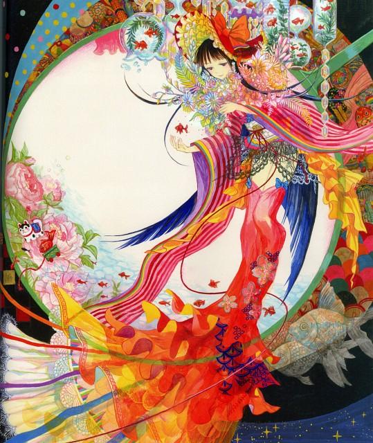 Fujiwara, Pixiv Official Book 2014, Original, Pixiv