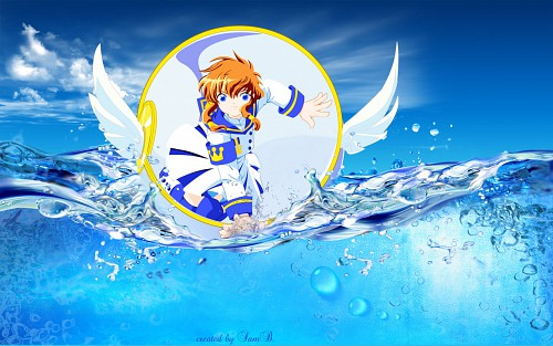 CLAMP, BONES, Angelic Layer, Misaki Suzuhara, Vector Art Wallpaper