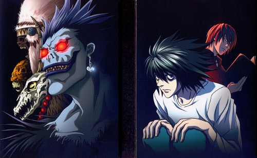 Madhouse, Death Note, L, Ryuk, Light Yagami