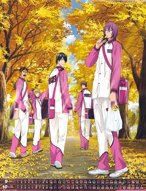 Tadatoshi Fujimaki, Production I.G, Kuroko no Basket, Wei Liu (Kuroko no Basket), Atsushi Murasakibara