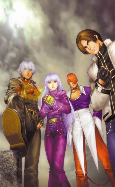 King of Fighters, Kyo Kusanagi, K', Kula Diamond, Iori Yagami