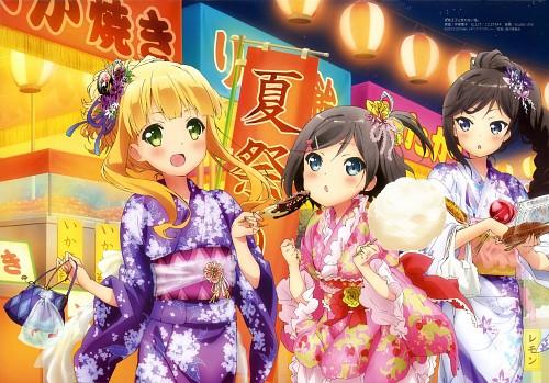 Yuki Imoto, J.C. Staff, Hentai Ouji to Warawanai Neko, Tsukiko Tsutsukakushi, Tsukushi Tsutsukakushi