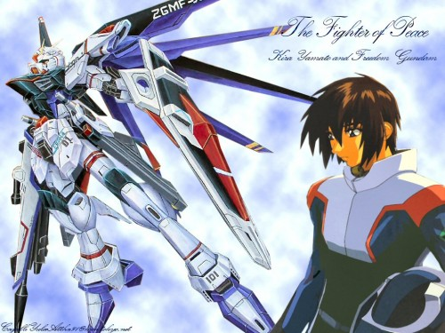 Sunrise (Studio), Mobile Suit Gundam SEED Destiny, Kira Yamato Wallpaper