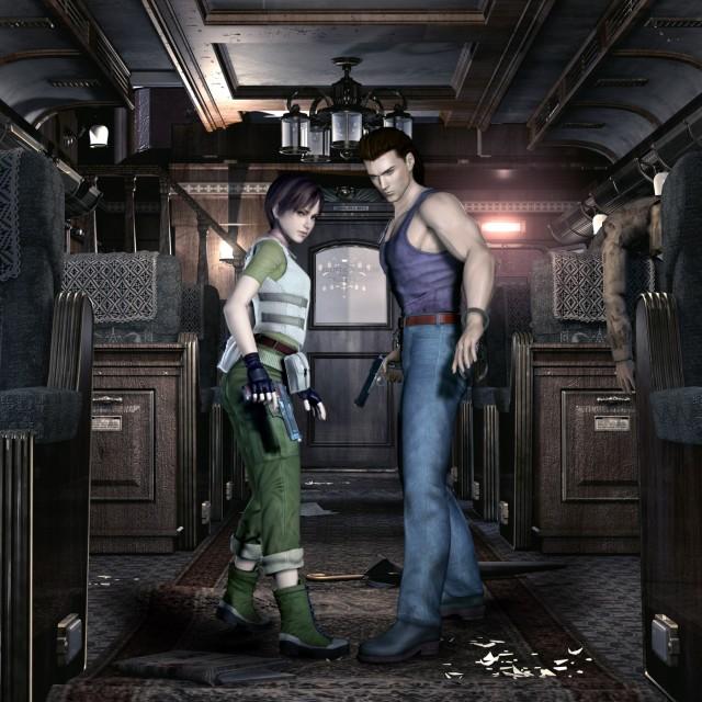 Capcom, Resident Evil Zero, Billy Coen, Rebecca Chambers