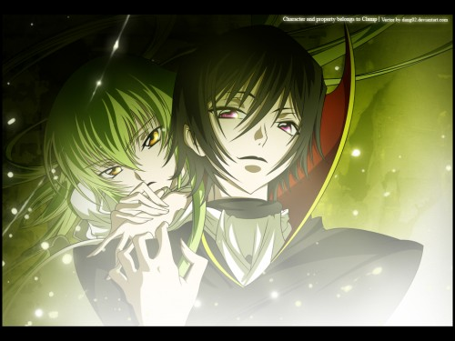 Lelouch of the Rebellion, C.C., Lelouch Lamperouge Wallpaper