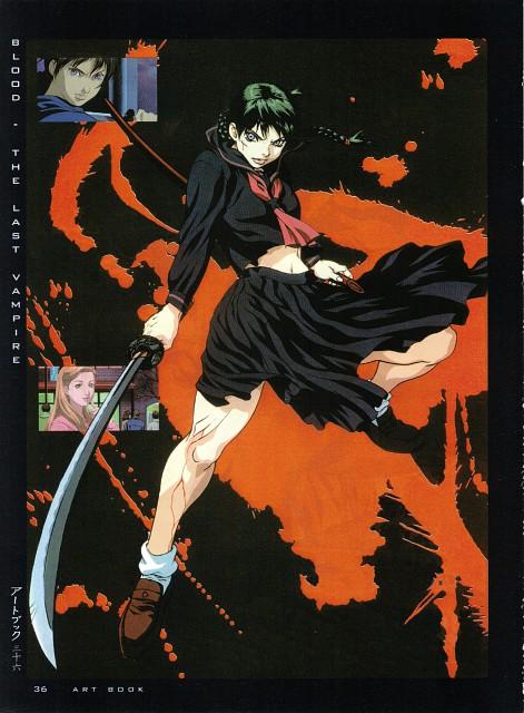 Production I.G, Blood the Last Vampire, Girls - Artbook VI, Saya
