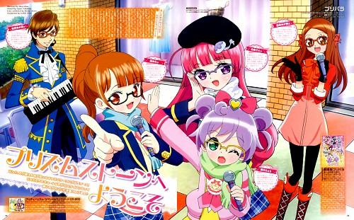 Tatsunoko Production, PriPara, Sophie Houjou, Mirei Minami, Lala Manaka