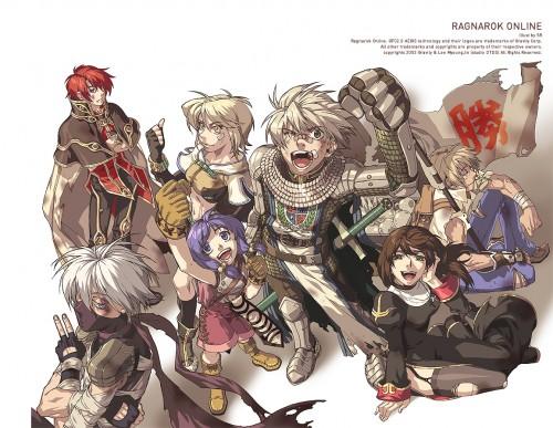 Ragnarok Online, Hunter (Ragnarok Online), Blacksmith, Knight (Ragnarok Online), Priestess (Ragnarok Online)