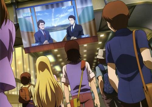 Sunrise (Studio), Mobile Suit Gundam 00, Gundam Perfect Files, Saji Crossroad, Louise Halevy