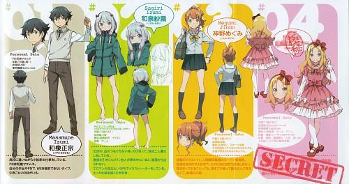 Hiro Kanzaki, Eromanga-sensei, Sagiri Izumi, Masamune Izumi, Megumi Jinno
