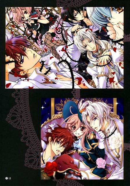 Aya Shouoto, Kiss of Rose Princess, Anise Yamamoto, Ninufa, Mitsuru Tenjoh