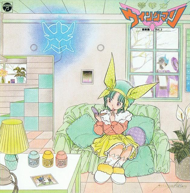 Masakazu Katsura, Toei Animation, Yume Senshi Wingman, Riro Ousei, Album Cover