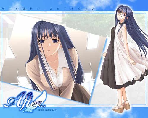 Tony Taka, Ciel (Studio), After..., Miyuki Chihaya, Official Wallpaper