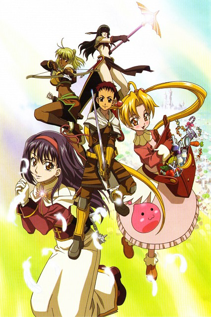 Ragnarok the Animation, Poring, Maaya, Rohan, Yufa