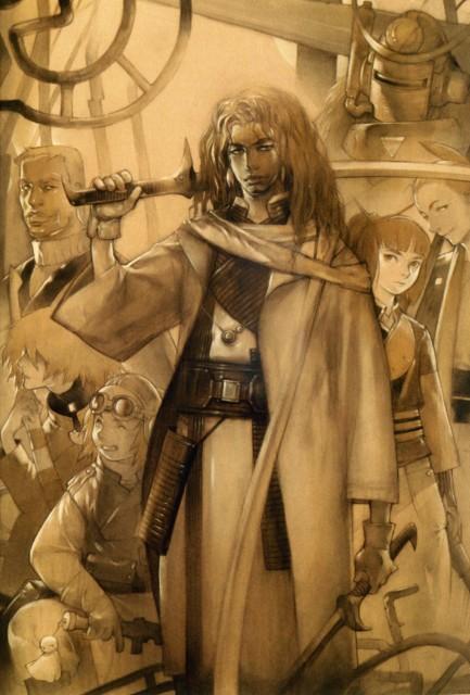 Gonzo, Samurai 7, Heihachi Hayashida, Shichiroji, Shimada Kambei