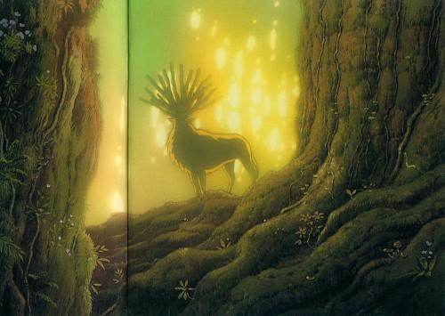 Hayao Miyazaki, Studio Ghibli, Princess Mononoke, Shishigami
