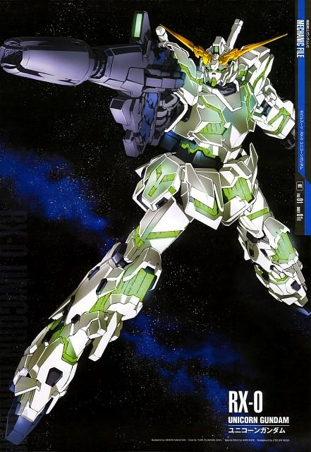 Sunrise (Studio), Mobile Suit Gundam - Universal Century, Mobile Suit Gundam Unicorn, Gundam Perfect Files