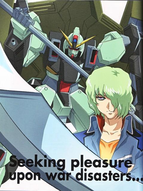 Sunrise (Studio), Mobile Suit Gundam SEED, Shani Andras