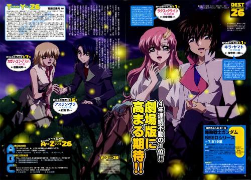 Sunrise (Studio), Mobile Suit Gundam SEED Destiny, Cagalli Yula Athha, Athrun Zala, Kira Yamato
